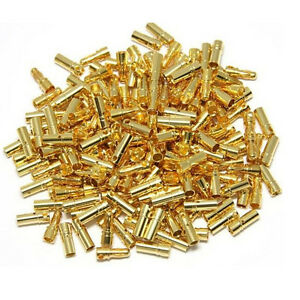 10Pairs/Set 2mm Bullet Banana Plug Wire Connector Tool for RC BatterySN Bn