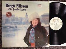 Birgit Nilsson - i S:t Jacobs Kyrka LP Swedish Pressing Shink - NM