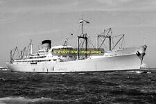 mc0189 - Port Line Cargo Ship - Port Adelaide , built 1951 - photo 6x4