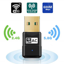Maxesla USB Wifi Adapter 600M Mini Wifi Dongle 802.11ac Dual Band 2.4/5GHz for X