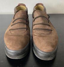 Bally of Switzerland men's brown suede chukka shoe sneakers size 9 M