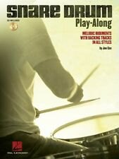 Snare Drum Play-Along Melodic Rudiments with Backing Tracks in All Sty 006620141