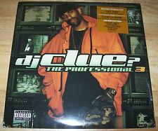 "BRAND NEW DJ Clue? TWO 12"" LPs The Professional 3 SEALED Game Rick Ross Jeezy"