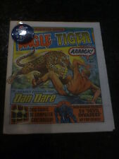 "EAGLE & TIGER Comic - No 164 - Date 11/05/1985 - With FREE ""Haunted House Badge"""