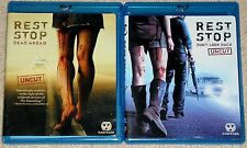 Horror Blu-ray Disc Lot - REST STOP Dead Ahead (Used) Don't Look Back (Used)