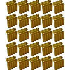 25 Brand New AA / AAA / CR123A Gold Battery Holder Storage Cases