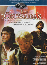 DVD - Las Cruzadas NEW The Crusaders 3 DVD's FAST SHIPPING !
