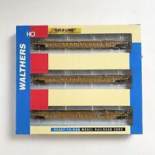 Walthers HO 932-3941 53' Well Car 3 Unit Set TTX Tk19