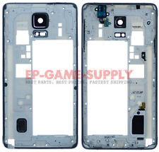 Housing Bezel Frame Assembly For Samsung Galaxy Note 4 N910A N910T N910W8 Black