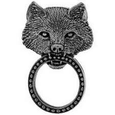 Pin's porte lunettes Loup country wolf gilet blouson sweat Biker moto Iron