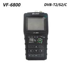 VF-6800 DVB-T2 DVB-S2 DVB-C Satellite Finder 2000mA Battery MPEG4 Sat Finder LCD
