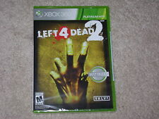 LEFT 4 DEAD 2...XBOX 360...***SEALED***BRAND NEW***!!!!!