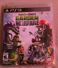 PS3 Plants vs Zombies Garden  Warefare