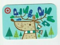 Target Gift Card Christmas Reindeer Antlers Mittens - 2007 - No Value -I Combine