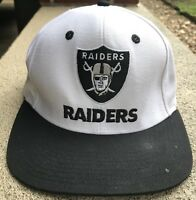 Oakland Raiders Snap Back Hat Cap One Size Reebok NFL Football Team Apparel CA