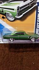 RARE-SUPER- '66 FORD 427 FAIRLANE -HOT WHEELS-2012-VHTF-TREASURE HUNT 1 OF 15