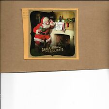 SCOTT 5336  SPARKLING HOLIDAYS SANTA SOUVENIR SHEET POSTALLY USED ON PAPER