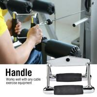 Home Gym Exercise Cable Handle Chinning Triangle Bar Double D Low Row Handle USA