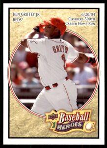2008 Upper Deck Baseball Heroes #47 Ken Griffey Jr. Cincinnati Reds