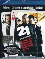 Blu Ray 21 - (2008) ***Contenuti Extra***  ......NUOVO