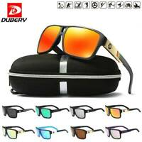 DUBERY Polarized Sunglasses Women/Men Square Cycling Sport Driving Outdoor UV400