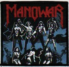 MANOWAR 'FIGHTING THE WORLD' vintage woven sew on patch