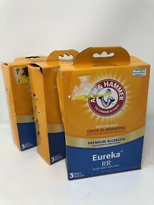 9 Arm & Hammer Eureka RR Premium Allergen Vacuum Bags 62622G Three 3 Packs