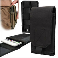 Outdoor Cellphone Belt Pouch Tactical MOLLE Army Holster Cover Case Phone Bag