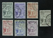 CKStamps: Belgium Stamps Collection Scott#B144-B150 Mint H OG