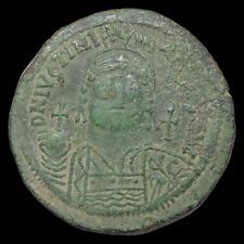Justinian I, AD 527-565, Follis, Constantinople mint