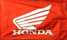 HONDA WING RACING HRC FLAG BANNER 3' x 5' dirt bike atv home garage wall decor