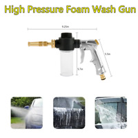1Pc High Pressure Power Washer Spray Nozzle Foam Wash Water Gun For Car Cleaning