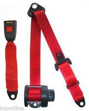 NEW Securon Seat Belt 264 Red Lap & Diagonal Belt x1