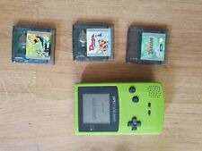Game Boy Color + 3 GAMES
