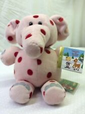 Original Stuffins CVS Pink Spotted Elephant Rudolph Misfit 12 inch Plush NWT
