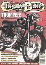 Classic Bike - Matchless G80S R1100RS BMW R100S BSA 350cc B31 Seeley G50 Racer