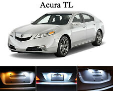 Xenon White License Plate / Tag 168 LED light bulbs for Acura TL(2 Pcs)