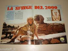 AMANDA LEAR clipping articolo fotografia photo 1985 AS78 SFINGE
