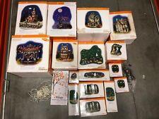 Dept 56 Halloween Snow Village Set 19 Pieces