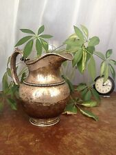 STERLING WATER PITCHER  2 3/4 Pints Old Old Old