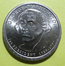 George Washington 2007D Gold Dollar Clad Coin 1st President DenverCirculated 500