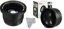 Telephoto Lens + FISHEYE + MACRO FOR CANON XS XT T3 T3i T4I for 18-55 HD 58mm K4