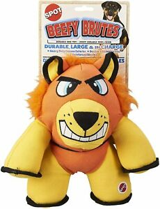 Spot Beefy Brutes Dog Toy Lion 10in  Free Shipping
