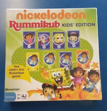 Nickelodeon Rummikub Kids' Edition Pressman Toys New in Box Dora Spongebob Diego