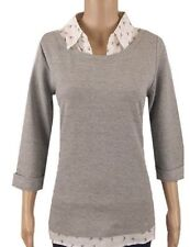 3/4 Sleeve Collared BHS Women's Semi Fitted