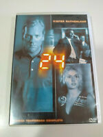 24 Seconda Stagione 1 Completa Kiefer Sutherland - 6 X DVD Spagnolo Inglese