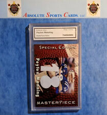 2007 MasterPiece Relics PEYTON MANNING Dual Jersey | Colts | Slabbed