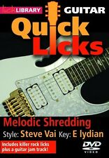 Lick Library Quick Licks Style Steve Vai Guitar Video Dvd Lessons Andy James