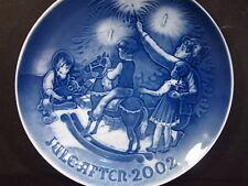 Bing & Grondahl 2002 Christmas Eve Annual Plate