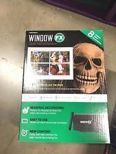 Window FX Mini Halloween Projector Digital Decor Spooky Sound WindowFX